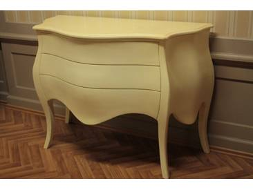 Shabby Chic Kommode Vintage creme lackiert