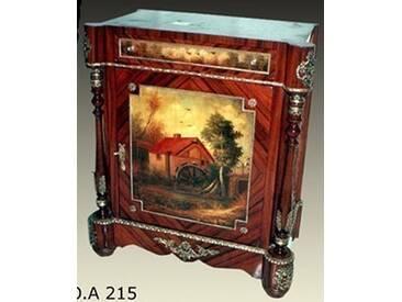 Barock Kommode mit Bemalung, Antik Stil Gemälde, Bild MoPa0215