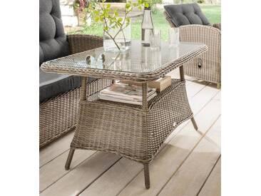 Destiny Loungetisch Merano Vintage Grau Tisch Gartentisch - Grau