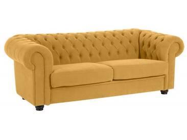 Sofa Couch 2,5-Sitzer Stoff weich Textilsofa Wohnzimmer barock klassisch