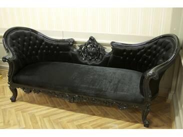 Barock Sofa Rokoko Louis XV AlSo0329SwSwSamt/Velour
