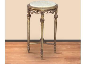Beistelltisch Tisch rund Antik Stil Barock AlTa0207GoAntikBg
