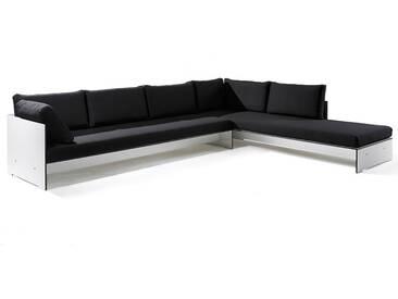 Conmoto Riva Lounge - Kombination 1 / A weiss - Sitzgarnitur - 320 cm x 240 cm mit Chaiselongue