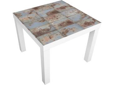 Beistelltisch - Shabby Industrial Metalloptik - Tisch