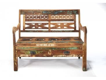 Bank Vintage aus FSC zertifiziertem Holz im Used Look