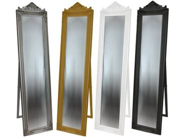 Standspiegel Spiegel Crown Ankleidespiegel Barock antik Landhaus 170 x 45 cm