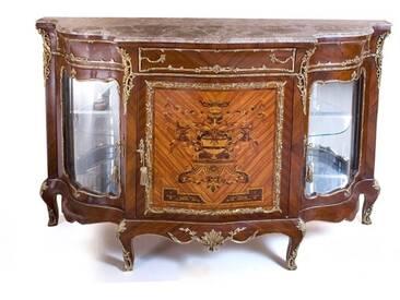 Barock Schrank Kommode Antik Stil MoBa14581