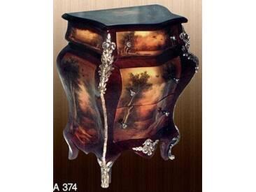 Barock Kommode mit Bemalung, Antik Stil Gemälde, Bild MoPa0374