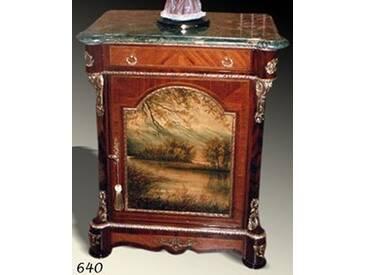 Barock Kommode mit Bemalung, Antik Stil Gemälde, Bild MoPa0640