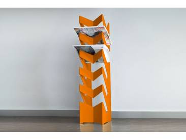 Radius Design Zeitungshalter - News Orange