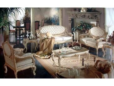 Barock Salon Sofa 2er 3er Sessel Tisch Antik Stil Vp0870