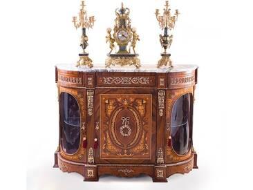 Barock Schrank Kommode Antik Stil MoBa1594