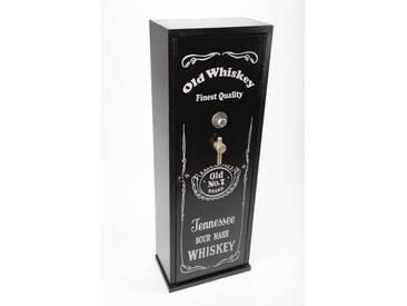 point-home CD-Schrank Whiskey im Retrolook schwarz 85cm