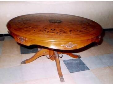 Barock Tisch rund Antik Stil Rokoko LouisXV MoAl0191