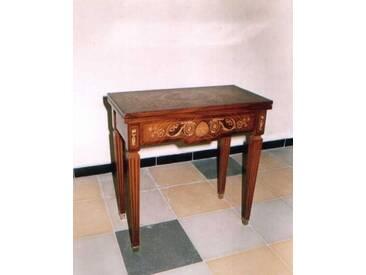 Barock Spiel-Tisch Rokoko Louis XV MoTa1159