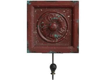 Vintage Wand Garderobe Landhaus Stil 1 Kleider Haken Holz Blume Blüte BHP B990842