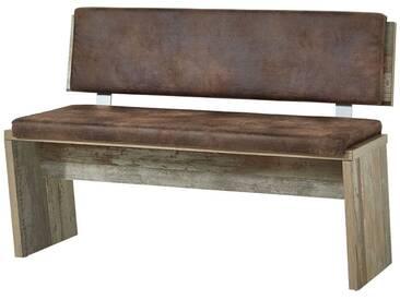 Bank Vintage Driftwood Braun Branson-36 BxHxT ca. 126x86x55cm - Natur