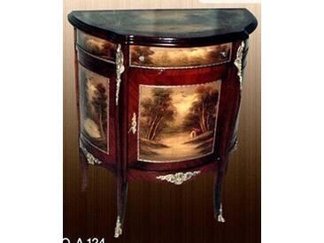 Barock Kommode mit Bemalung, Antik Stil Gemälde, Bild MoPa0124