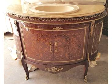 Barock Waschtisch Antik Stil Kommode Marmor Barock Antik Stil LouisXV MkBa0027