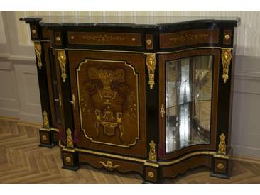 Barock Kommode Schrank Antik Stil Klassizismus MoMo1103Sw