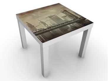 Beistelltisch - Vintage New York - Tisch Braun