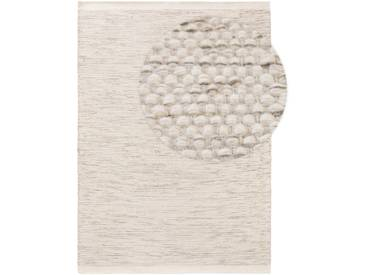 benuta NATURALS Wollteppich Rocco Cream 300x400 cm - Naturfaserteppich aus Wolle