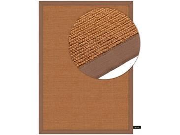 benuta NATURALS Kurzflor Teppich Sisal Hellbraun 160x230 cm - Moderner Teppich für Wohnzimmer