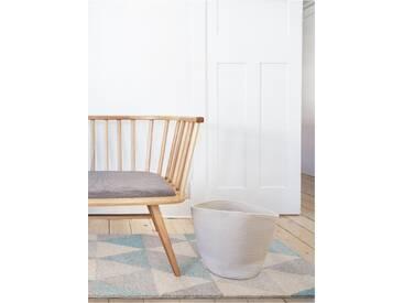 benuta Kurzflor Teppich Pastel Geomet Türkis 80x150 cm - Moderner Teppich für Wohnzimmer