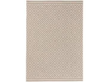 benuta PLUS In- & Outdoor Teppich Metro Grau 80x150 cm - Outdoor-Teppich für Balkon & Garten