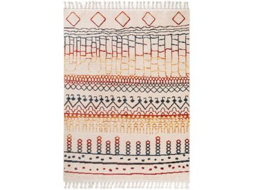 benuta TRENDS Berber Teppich Bahar Multicolor 160x220 cm