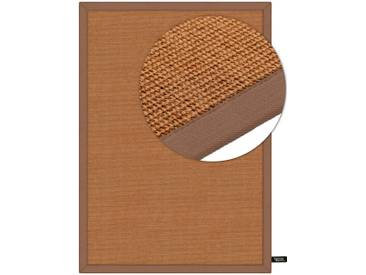 benuta NATURALS Kurzflor Teppich Sisal Hellbraun 300x400 cm - Moderner Teppich für Wohnzimmer