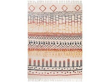 benuta TRENDS Berber Teppich Bahar Multicolor 240x380 cm