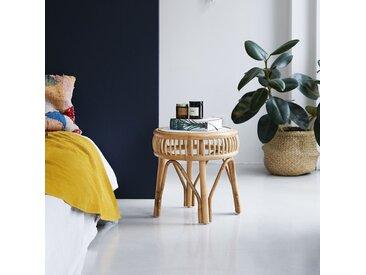 Nachttisch aus Rattan Zélie