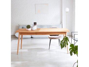 Esstisch aus Teakholz massiv Esszimmer Tisch 180x80 cm neu Tikamoon
