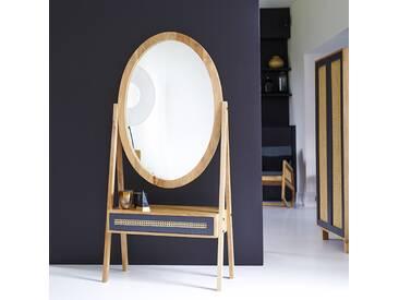 Standspiegel aus Mangoholz 160x77 Rafael