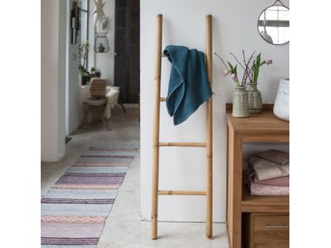 Handtuchhalter Badezimmer Leiterform Bambus Tikamoon