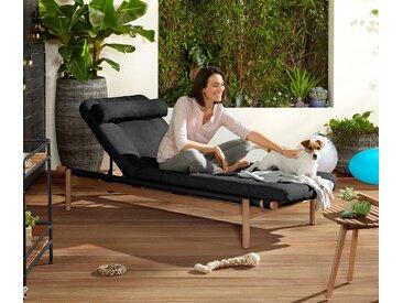 Relaxliege inkl. Auflage - naturfarben - Tchibo