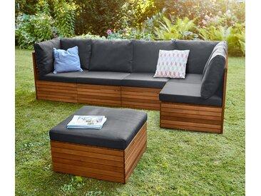 Lounge-Möbel-Element - schwarz - Tchibo