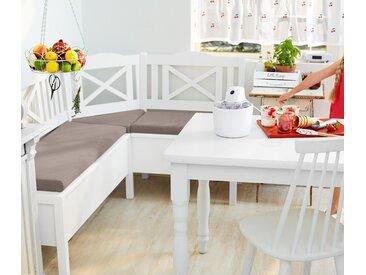 Küchen-Eckbank mit Sitzkissen - beige - Massivholz - Tchibo