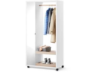 Mobile Spiegelschrank-Garderobe