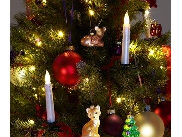 30 LED-Weihnachtsbaumkerzen - creme - Tchibo