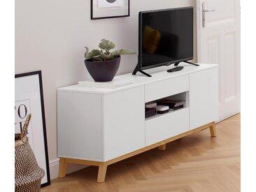 TV-Lowboard - weiß - Holz - Tchibo