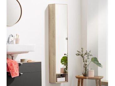 Hoher Badspiegelschrank