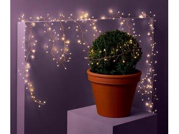 LED-Outdoor-Lichterkette - schwarz - Tchibo