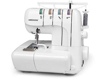 MEDION-Overlock-Nähmaschine »MD 18030« - Weiß - Tchibo