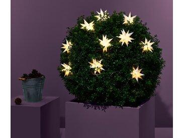 LED-Lichterkette »Sterne« - weiß - Tchibo