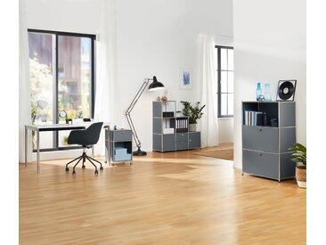 Gepolsterter Schreibtischstuhl - schwarz - Tchibo