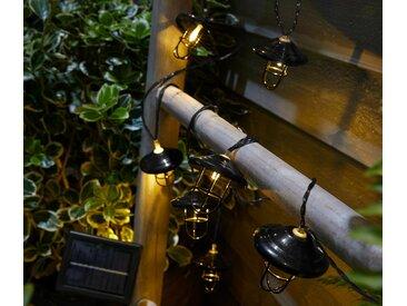 Solar-Lichterkette »Laternen« - schwarz - Tchibo
