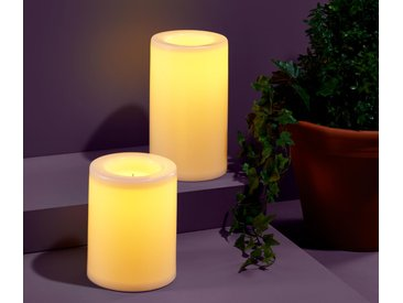 2 LED-Kerzen - creme - Tchibo