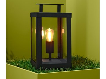 LED-Outdoor-Filament-Laterne - schwarz - Tchibo